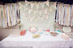 vintage girls first birthday | Shabby chic/vintage/pastel first birthday party for baby girl ...