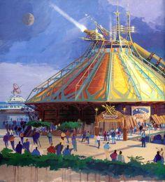 Discoveryland Concept Art, Disneyland Paris