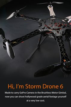 STORM Drone 6 Flying Platform - HeliPal