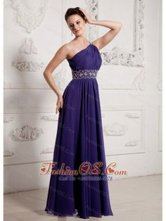 2013 Eggplant Purple One Shoulder Ruch and Beading Prom Celebrity Dress- $145.21  https://pinterest.com/Fashionos/  http://www.youtube.com/user/fashionoscom?feature=mhee  This is a beautiful gown and would make a lovely addition to anyone's formal wardrobe. A beaded one shoulder and waistband features the ruched bodice and contour your slim figure. The unique back adds the interest and sex.