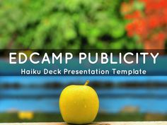 Simple, beautiful, flexible presentation template to capture highlights from a conference or event. Ideas: embed in blog or website, post to social media channels, email to event attendees.