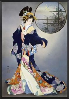 Make your interior blank space look striking with this Hd Print Japanese Geisha Girls Portrait wall art Canvas. Pictures are HD printed on high-quality, tear-resistant cotton canvas with waterproof ink, so they are never faded, bent, or folded like paper. They are safe to use in rooms or bedrooms of children because they are non-toxic and contain no harmful chemicals.