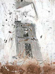Tikkum by ANSELM KIEFER, 2004 Photographic paper, clay and acrylic on wood. 100x75 cm