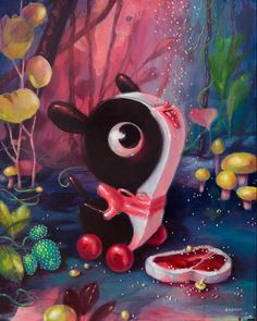 Brandi Milne: Once Upon A Quiet Kingdom @ Corey Helford Gallery