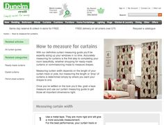 A detailed step-by-step guide on how to measure for curtains to ensure the right fit every time.