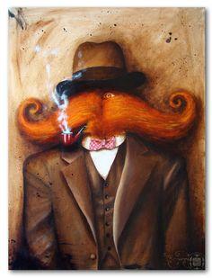 *mustache man*