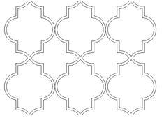 pochoir style marocain - Recherche Google