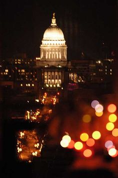 Wisconsin State Capitol & State Street, Madison