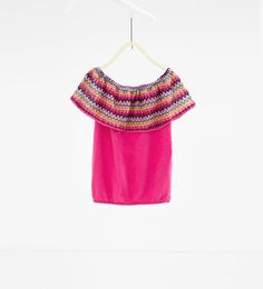ZARA - NEW IN - Frilled T-shirt