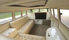 30 Creative Vw Bus Interior Design Ideas – Home Decor Ideas Volkswagen 181, Vw T1 Camper, Vw Kombi Van, Kombi Home, Campers, Interior Kombi, Volkswagen Bus Interior, Van Interior, Interior Design