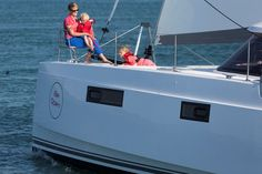 The Nautitech Catamarans Open 40 offers fast multihull sailing performance without compromising on space.