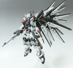 RG 1/144 Strike Freedom Gundam + AEGIS Unit - Custom Build