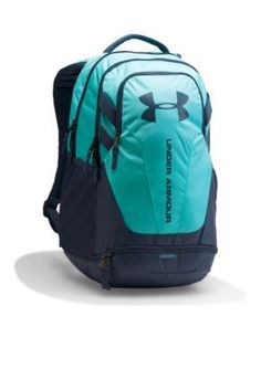 Under Armour Blue Infinity Apollo Gray Hustle 3.0 Backpack Under Armour  Backpack ef070fba97fed