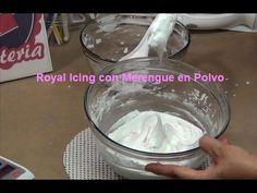 GLASE con Clara de huevo o con Polvos de merengue - YouTube