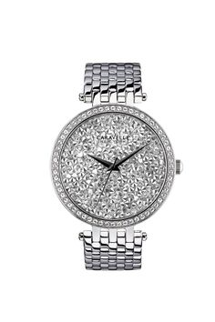 Swarovski Crystal Face Bracelet Band Watch. (43L160)  $120. Parker Jewelers. 856-935-3400. Call to order.