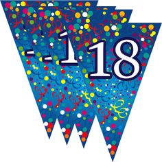 Zászló fűzér, évszámos 18 - Zászlók - Évszámos zászló fűzérek - Party termékek - Szilveszteri és farsangi cikkek webáruháza 18th, Symbols, Letters, Letter, Lettering, Glyphs, Calligraphy, Icons
