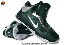 huge selection of 3bcfe fe8ca Buy New Mens 535272 300 Gorge Green White Metallic Silver Nike Zoom  Hyperchaos Basketball Shoes Store