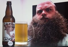 """Bearface Lager - Bearface Lager (Drygate Brewing Company - Ecosse) -  via """"Maison du whisky"""" : whisky.fr -  """"Heavy on the hops, light on the tongue, clean & crisp Citrus hints, lager that refreshes the body vigourous!"""""""