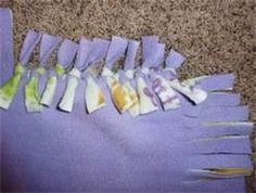 Easy to make blanket