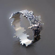 Sterling Silver Vine Ring by Lisa Hopkins Design