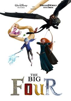 The Big Four movie poster (Fan made)
