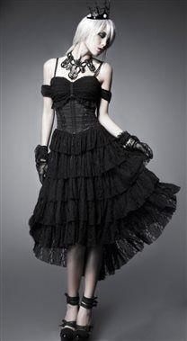 Punk Rave Gothic Decadance Dress