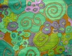 ~ Jack Lenor Larsen - Samarkand, velvet upholstery fabric, 1967