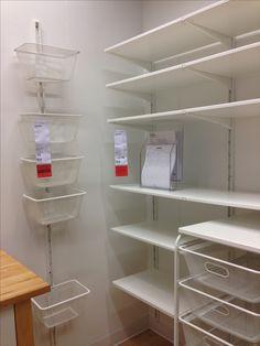 Algot pantry organization/storage