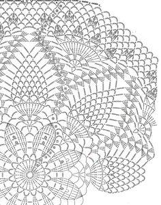 Crochet Gloves Pattern, Crochet Doily Diagram, Crochet Mandala Pattern, Crochet Art, Crochet Home, Thread Crochet, Filet Crochet, Vintage Crochet, Crochet Squares