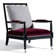 Picture of New Bohemian Spindle Chair - Ralph Lauren Henredon & Schoener YES. Very much like.