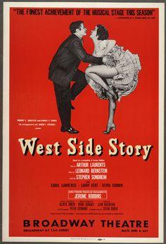 """►""""West Side Story"""" de Leonard Bernstein y Arthur Laurents."""