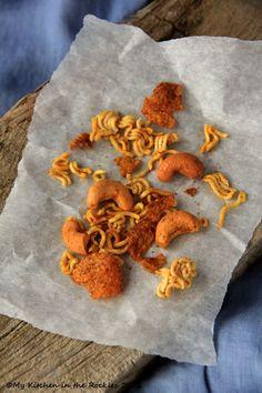 Crunchy Ramen School Snack  by Kirsten | My Kitchen in the Rockies