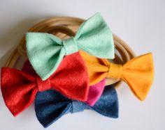 Arco cinta para la cabeza del bebé elige tu color fieltro