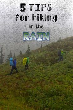 Rain doesn't have to be a day ruiner, here are a few rainy day tips!