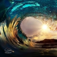 """wave - Willyam Bradberry © Vitaliy-Sokol.com <a href=""""http://www.shutterstock.com/pic.mhtml?id=238408846"""">Stock photo: Tropical beach paradise with palm trees and evening surfing wave </a> Thx for watching"""