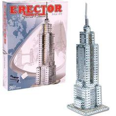 Amazon.com: Erector Empire State Building set: Toys & Games