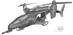 Halo: REACH Falcon, Isaac Hannaford on ArtStation at https://www.artstation.com/artwork/halo-reach-falcon