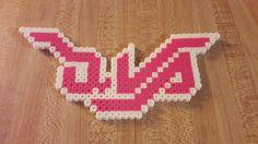 D.Va logo - Perler Bead Overwatch www.etsy.com/shop/PerlerBeadArmory