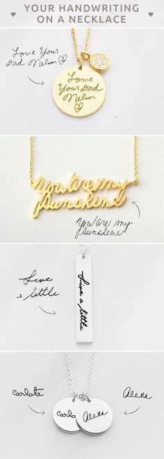 DAINTY Handwriting Necklace • Actual handwriting necklace • Personalized handwritten necklace • Personalized Signature Necklace • Engraved name necklace • Memorial signature jewelry • Custom Handwriting Jewelry Sterling Silver • Memorial Necklace • Memorial jewelry for wedding • Christmas gifts • christmas presents for mother in law • personalised engagement gifts for engaged couple • unique teacher gifts • birthday gift ideas for mom • bff gifts • unique gifts for