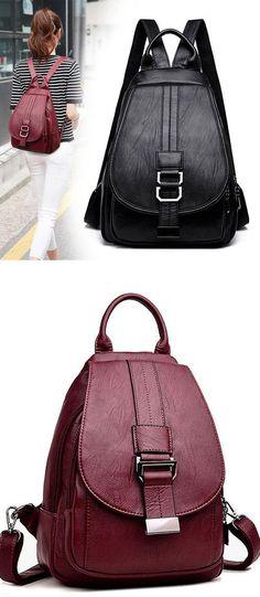 695b65b589 See more. Leisure Multifunction Shoulder Bag Pu Mini Small Single Buckle Girl s  Backpack  Backpack  Bag