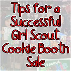Girl Scout cookie sales just started this weekend. On Saturday, we had our first cookie booth at a local grocery store. I am so glad that we sold inside because it was frigid outside. This is the 4th year of sales (I'm troop leader and cookie mom) and I've learned a lot. Here are my …