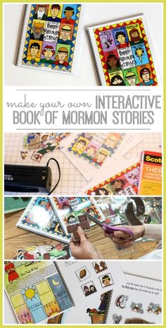 Quiet Book – Interactive Book of Mormon