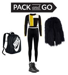 """Winter"" by paulapau9 ❤ liked on Polyvore featuring Giuseppe Zanotti, River Island, Boohoo and NIKE"
