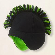 fleece mohawk hat