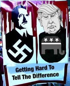 Is it me or is Trump the perfect republican candidate, a racist bigoted egomaniac.