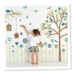 I love these wall stickers @Elmarie Giles