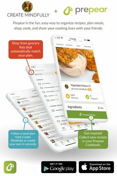 Prepear is a free meal planning app that helps you store your recipes all in one place, shop with automatic grocery lists, and create meal plans. Vegan Zucchini Lasagna, Vegan Cauliflower Pizza Crust, Tofu Ricotta, Zucchini Bites, Vegan Pizza, Vegan Recipes, Cooking Recipes, Vegan Snacks, Lunch Recipes