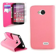 LG Tribute / Transpyre / Optimus F60 Wallet Phone Case and Screen Protector   CoverON® (CarryAll) Pouch Series   Tough Textured Exterior (Light Pink / Hot Pink) Flip Stand Cover with Credit Card and Cash Holder Slots for LG Tribute / Transpyre / Optimus F60 CoverON http://www.amazon.com/dp/B00SJDNJ9O/ref=cm_sw_r_pi_dp_FOJbvb12XBQ8M