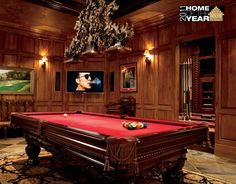 Man Cave Pool Room