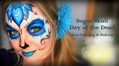 Pretty and Easy Sugar Skull Makeup and Face Painting
